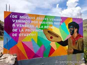 Proyecto artístico crea hermosos murales en Otuzco - Siente Trujillo