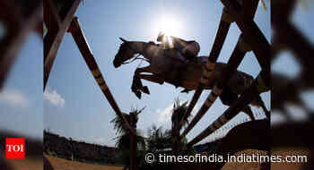 Team India bags two gold in equestrian event - Times of India