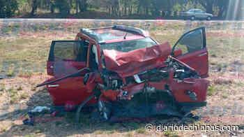 Chocan dos camionetas en Pijijiapan Dos lesionados, el saldo - Diario de Chiapas