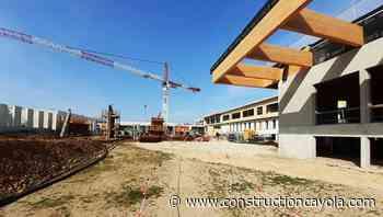 Collège de Remoulins : les bons points du béton bas carbone - Construction Cayola