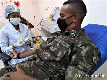 Militares do Exército realizam doação de sangue em Paulo Afonso (BA) #DoeSangue - Defesa - Agência de Notícias