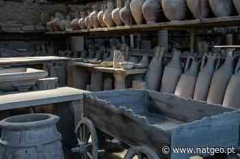 Imagens recentes das magníficas ruas e relíquias de Pompeia - National Geographic Portugal