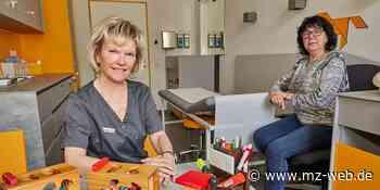 Im Gesundheitszentrum im ehemaligen Postamt Bernburg öffnen weitere Praxen: Kinderärztin Heike Hüfner und Logopädin Uta Richter - Mitteldeutsche Zeitung