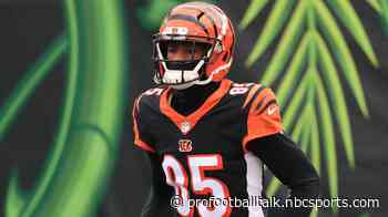 "Tee Higgins: ""Now's the time"" for younger Bengals to step up"