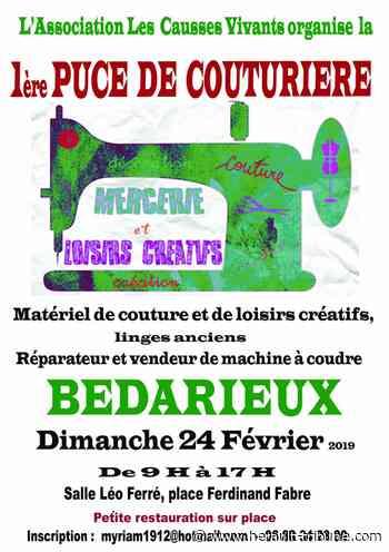 BEDARIEUX - Puces des couturières le 24 février 2018 - Hérault-Tribune