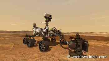 NASA Perseverance rover captures sounds of it driving around in Mars
