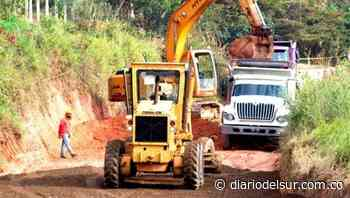 Departamento supervisó avance de obras de la vía El Pital - Caldono - Diario del Sur
