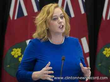Ontario sports and recreational groups welcome government support - Clinton News Record