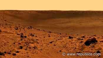 Una buena parte del agua antigua de Marte estaría atrapada en los minerales de su corteza - Republica.com