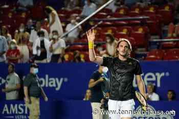ATP Acapulco: Stefanos Tsitsipas, Milos Raonic and Grigor Dimitrov advance - Tennis World USA