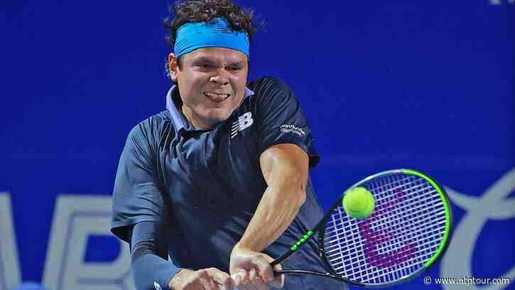 After Ending Haircut Drought, Milos Raonic Fires Into Acapulco Second Round - ATP Tour