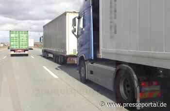 POL-ROW: ++ Abstandskontrollen auf der Hansalinie - Autobahnpolizei Sittensen setzt Aktion fort ++ - Presseportal.de