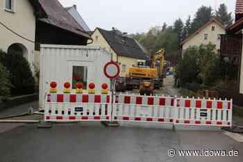 An der Ortsdurchfahrt wird wieder gebaut - In Tiefenbach rollen die Baumaschinen an - idowa