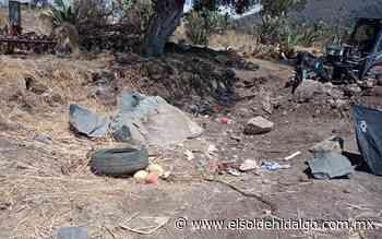 Dos hombres resultan lesionados tras explosión en Apan - El Sol de Hidalgo
