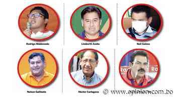 De Andia a Galvez: 6 alcaldes electos que vencieron al MAS en la Llajta - Opinión Bolivia