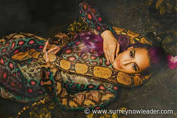 PHOTOS: DJ Goddess charms Maya the snake in video shoot at Surrey animal sanctuary – Surrey Now-Leader - Surrey Now-Leader