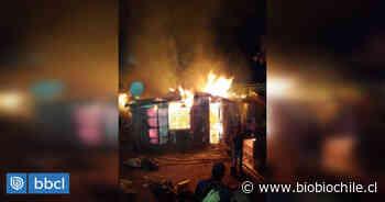 Bomberos de Valparaíso combatió incendio estructural en Cerro Yungay: vivienda quedó destruida - BioBioChile