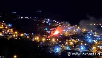 Incendio Cerro Yungay Valparaíso - Valparaíso - 24Horas.cl
