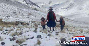 ¡Atención! Cerro de Pasco y otras ciudades vienen soportando precipitaciones de lluvia, nieve, granizo - exitosanoticias