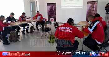 Certifican a Bomberos de Ixtapaluca en combate de incendios por CONOCER - Hoy Tamaulipas