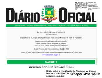 "CAMPO BELO ESTÁ OFICIALMENTE NA ""ONDA ROXA""   CLUBE OPZ - O Porta Voz"