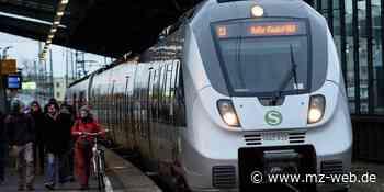 Regionalbahn 75 wird zur S-Bahn zwischen Eisleben und Halle - Mitteldeutsche Zeitung