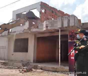 [Video] Demolida casa en Olaya Herrera que era usada para el microtráfico - El Universal - Colombia