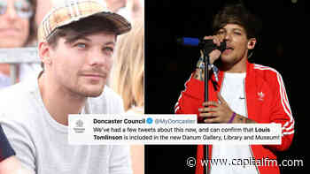Louis Tomlinson 'Makes History' As He Becomes Featured In Doncaster Museum - Capital