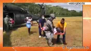 Dos mujeres fueron rescatadas por operación humanitaria en Frontino - Telemedellín