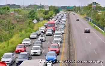 Caos vial en la Villahermosa-Teapa afecta a comercio de la zona - El Heraldo de Tabasco