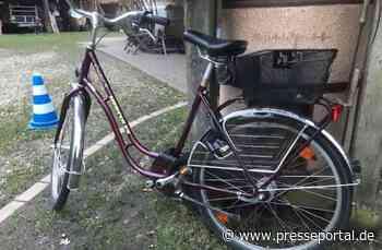 POL-CE: Hermannsburg - Wer vermisst dieses Fahrrad? - Presseportal.de