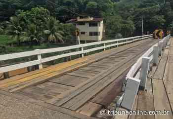 Moradores reclamam de más condições de ponte em Alfredo Chaves - Tribuna Online