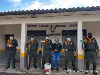 Policía Tolima ejecuta labor social en Gaitania Planadas - El Cronista