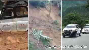 Autoridades de Planadas descartan victimas en el deslizamiento de la vereda los Andes - Ondas de Ibagué