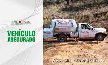 Next Asegura PGJE pipa de gas abandonada en terrenos de labor en Calpulalpan - Linea de Contraste