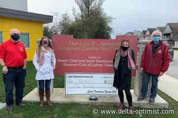 Tsawwassen Ladner Kinsmen support Reach Society - Delta-Optimist