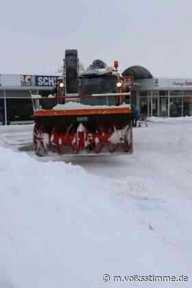 Parkende Fahrzeuge behindern Winterdienst | Volksstimme.de - Volksstimme