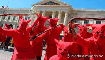 Los Talcigüines de Texistepeque se quedan sin castigar a pecadores debido al covid-19 - Diario El Mundo