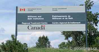 Coronavirus: 2 COVID-19 cases at Millhaven Institution - Global News