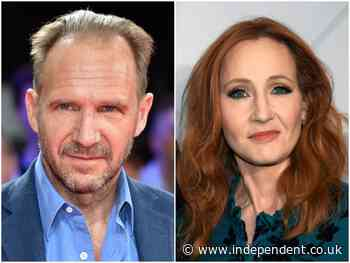 Ralph Fiennes says he 'doesn't understand the vitriol directed at JK Rowling' - The Independent