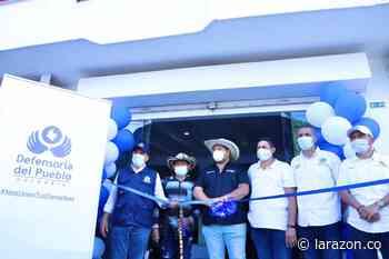 Inaugurada en Montelíbano la Defensoría Regional Sur de Córdoba - LA RAZÓN.CO