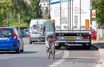 Note 4,31 für Landau an der Isar - Radfahrer sind mit der Verkehrssituation unzufrieden - idowa