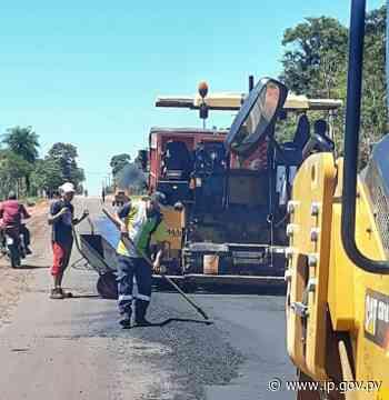 Nueva ruta en Yataity del Norte beneficiará a 12.000 pobladores de San Pedro | - ip.gov.py