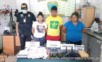 Sullana: detienen a presuntos microcomercializadores de droga en Querecotillo - El Regional