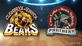 Cass Lake-Bena Boys Basketball Hangs on to Beat Clearbrook-Gonvick in Section 8A - lptv.org