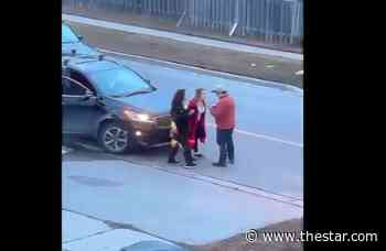 Did she hit your car? Bowmanville road rage incident caught on video - Toronto Star