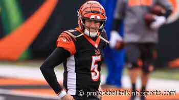 Bengals trading Ryan Finley to Texans rather than releasing him