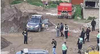 Policía muere al interior de un patrullero en el distrito de Chilca en Huancayo (VIDEO) - Diario Correo