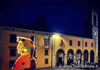 Dante Alighieri in Piazza Grande a Bibbiena - Casentinopiù