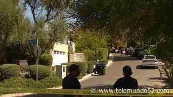 Encuentran cadáver dentro de garaje en Encino - Telemundo 52